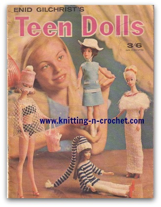 Free vintage barbie doll clothes patterns
