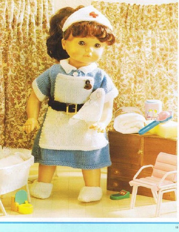 Cute doll clothes patterns