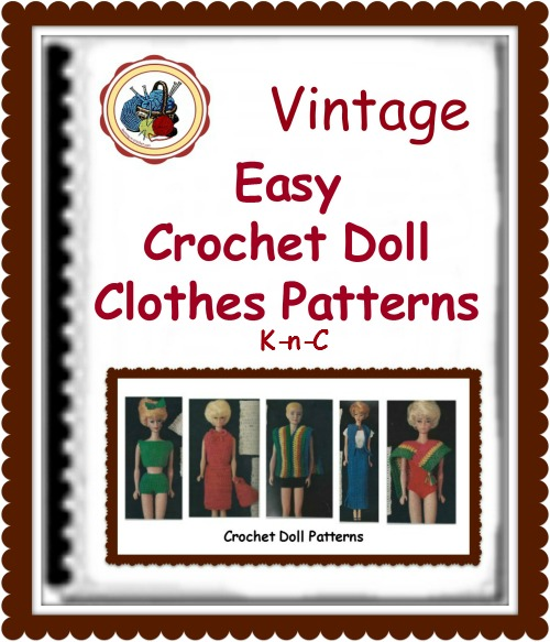 Easy crochet doll clothes great for beginners