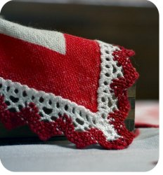 Cotton crochet thread, and free pattern