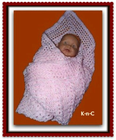 Free Download Crochet Patterns Baby Shawls : Unusual free crochet baby blanket. very easy for beginners